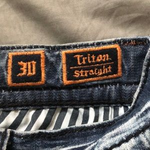 Rock Revival Jeans - Rock revival Triton straight size 30